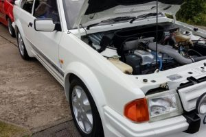 Classic Car Ford Escort Servicing