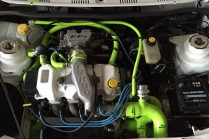 Checking Oil Car MOT