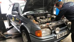 Escort Series 2 rs Turbo Car Restoration