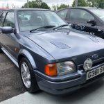 escort turbo rs restoration